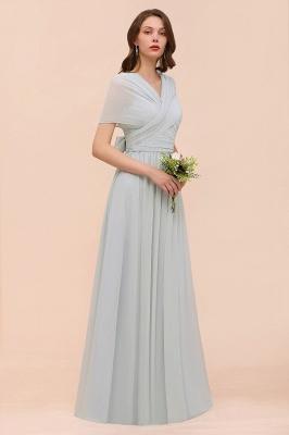 Brautjungfernkleider Lang Chiffon | Kleider für Brautjungfern_9