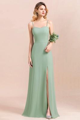 Brautjungfernkleider Mint | Chiffon Kleider Abendkleider Online_2