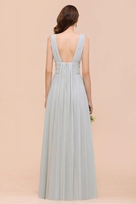 Brautjungfernkleider Lang Chiffon | Kleider für Brautjungfern_3