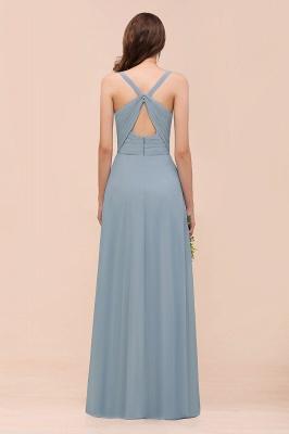 Brautjungfernkleider Heller Blau | Chiffon Kleider Für Brautjungfern_3