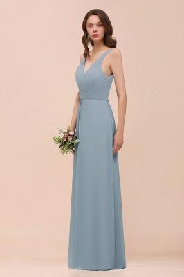 Brautjungfernkleider Heller Blau | Chiffon Kleider Für Brautjungfern_9