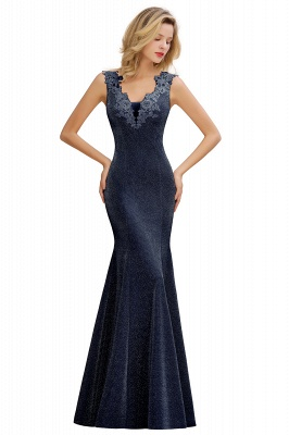 Abendkleider Lang v Ausschnitt | Abiballkleider Rosa Günstig_3