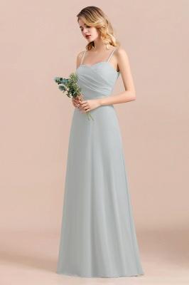 Elegante Brautjungfernkleider Lang Günstig | Hochzeitspartykleider Chiffon_8