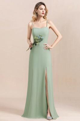 Brautjungfernkleider Mint | Chiffon Kleider Abendkleider Online_1