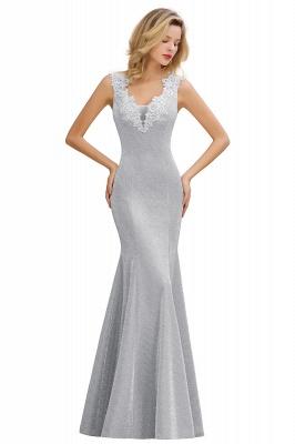 Abendkleider Lang v Ausschnitt | Abiballkleider Rosa Günstig_4