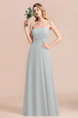 Elegante Brautjungfernkleider Lang Günstig | Hochzeitspartykleider Chiffon_1