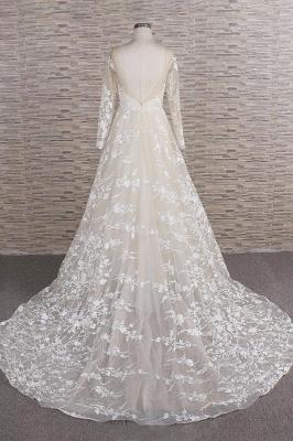 Brautkleider Mit Ärmel | Hochzeitskleider Spitze Online_3