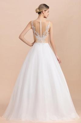 Schlichte Hochzeitskleider A Linie | Brautkleid Umstandsmode_3
