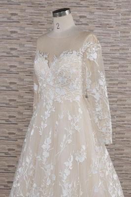 Brautkleider Mit Ärmel | Hochzeitskleider Spitze Online_6