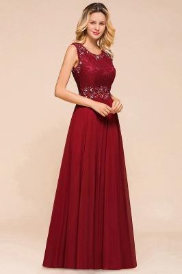 Abendkleid Rot Lang Spitze | Abendmode Günstig Online Kaufen_4