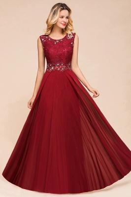 Abendkleid Rot Lang Spitze | Abendmode Günstig Online Kaufen_6