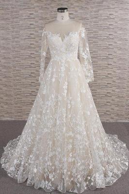 Brautkleider Mit Ärmel | Hochzeitskleider Spitze Online_1