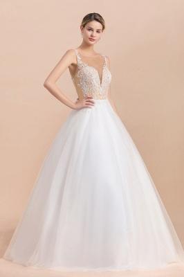 Schlichte Hochzeitskleider A Linie | Brautkleid Umstandsmode_7