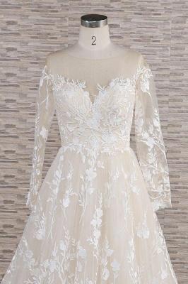 Brautkleider Mit Ärmel | Hochzeitskleider Spitze Online_5