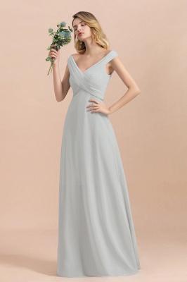 Brautjungfernkleider Lang Mint | Günstiges Brautjungfernkleid_7