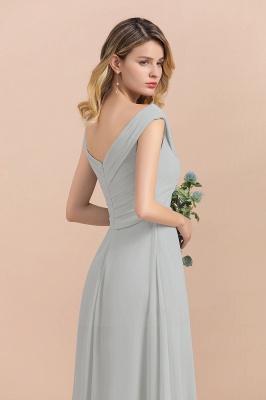 Brautjungfernkleider Lang Mint | Günstiges Brautjungfernkleid_8