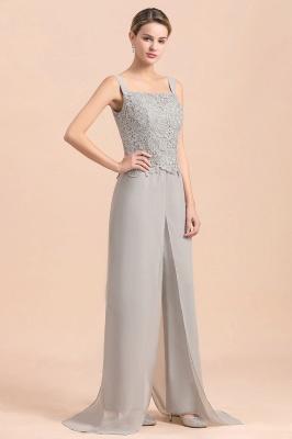 Silber Brautmutterkleid mit Jacket | 3 Teilige Brautmutterkleider_9