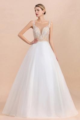 Schlichte Hochzeitskleider A Linie | Brautkleid Umstandsmode_6