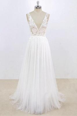 Schlichte Brautkleider Mit Spitze | Hochzeitskleider Günstig Online_1