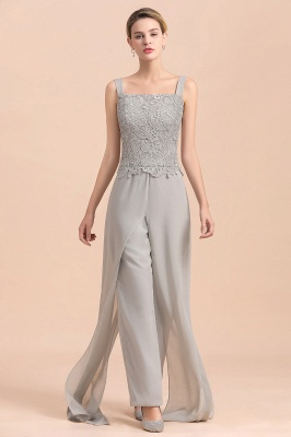 Silber Brautmutterkleid mit Jacket | 3 Teilige Brautmutterkleider_10