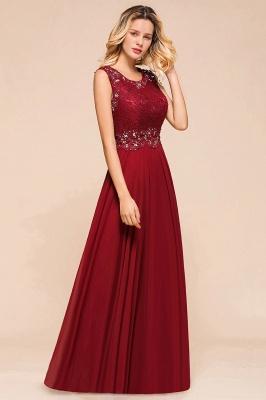 Abendkleid Rot Lang Spitze | Abendmode Günstig Online Kaufen_7
