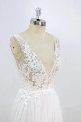 Schlichte Brautkleider Mit Spitze | Hochzeitskleider Günstig Online_6