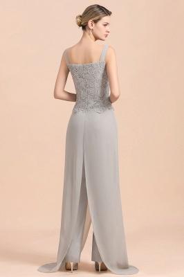 Silber Brautmutterkleid mit Jacket | 3 Teilige Brautmutterkleider_11