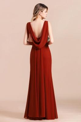 Brautjungfernkleider Lang Rot | Hochzeitspartykleider Günstig_3