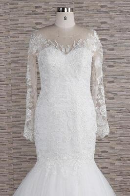Elegante Hochzeitskleider Meerjungfrau   Brautkleider Spitze Online_5