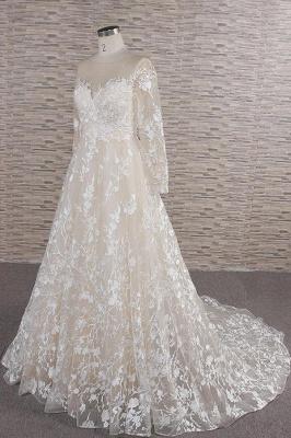 Brautkleider Mit Ärmel | Hochzeitskleider Spitze Online_4