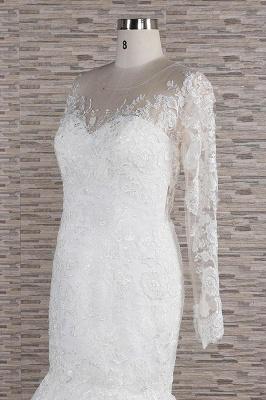 Elegante Hochzeitskleider Meerjungfrau   Brautkleider Spitze Online_6
