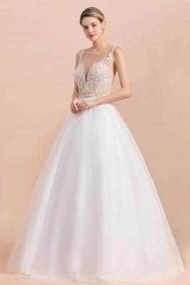 Schlichte Hochzeitskleider A Linie | Brautkleid Umstandsmode_4