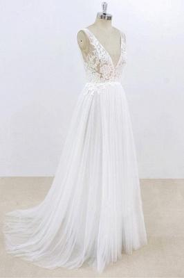 Schlichte Brautkleider Mit Spitze | Hochzeitskleider Günstig Online_4