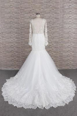 Elegante Hochzeitskleider Meerjungfrau   Brautkleider Spitze Online_3