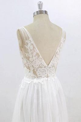 Schlichte Brautkleider Mit Spitze | Hochzeitskleider Günstig Online_7