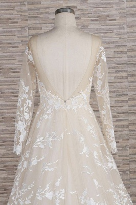 Brautkleider Mit Ärmel | Hochzeitskleider Spitze Online_7