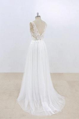 Schlichte Brautkleider Mit Spitze | Hochzeitskleider Günstig Online_5
