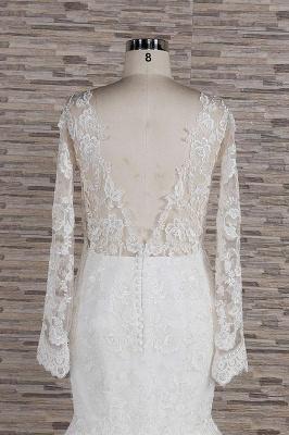 Elegante Hochzeitskleider Meerjungfrau   Brautkleider Spitze Online_7