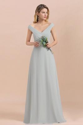Brautjungfernkleider Lang Mint | Günstiges Brautjungfernkleid_4