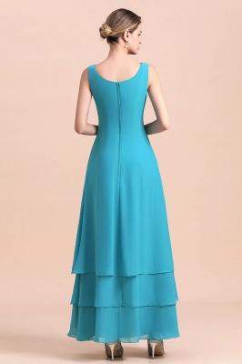 Blaue Brautmutterkleider Mit Jacket   Brautmutter Suit Günstig_8