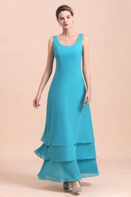 Blaue Brautmutterkleider Mit Jacket   Brautmutter Suit Günstig_9