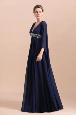 Schöne Brautjungfernkleider mit Ärmel | Abendmoden Online_4