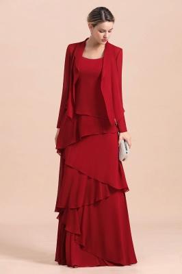 Rote Brautmutterkleider Mit Jacket   Kleider Für Brautmutter_5