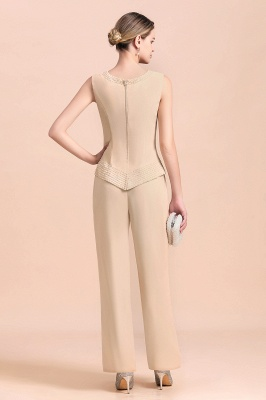 Champagne Brautmutterkleider Mit Jacket | Jumpsuit Brautmutterkleid_8