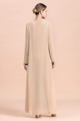 Champagne Brautmutterkleider Mit Jacket | Jumpsuit Brautmutterkleid_3