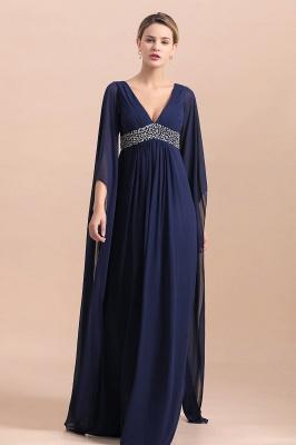 Schöne Brautjungfernkleider mit Ärmel | Abendmoden Online_6