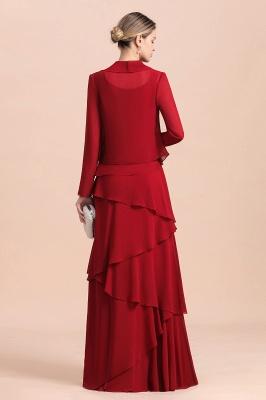Rote Brautmutterkleider Mit Jacket   Kleider Für Brautmutter_3