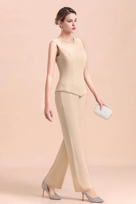 Champagne Brautmutterkleider Mit Jacket | Jumpsuit Brautmutterkleid_9
