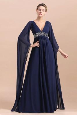 Schöne Brautjungfernkleider mit Ärmel | Abendmoden Online_5