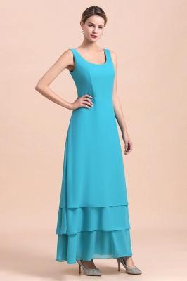 Blaue Brautmutterkleider Mit Jacket   Brautmutter Suit Günstig_7